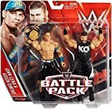 WWE KEVIN OWENS JOHN CENA W/ ESTADOS UNIDOS CINTUR�N - PACK DE LUCHA SERIE 39