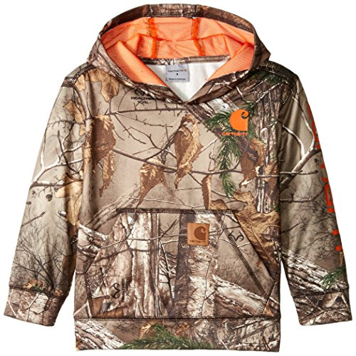 Carhartt Little Boys' Camo Sweatshirt, Realtree Xtra, 5 (Camouflage Clothing For Kids compare prices)