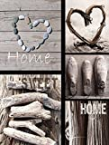 Cheapest Graham & Brown Canvas Wall Art Pictures Home Sweet Home 5 Pieces 943 on
