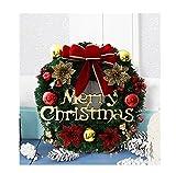 ONEONEY おしゃれ クリスマスリース 玄関 ドア お部屋 クリスマス飾り 花蝶結び クリスマス 造花 花輪