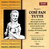 echange, troc Mozart, Lewis, Rothmuller, Bruscantini, Busch - Cosi Fan Tutte: Glyndebourne 1951