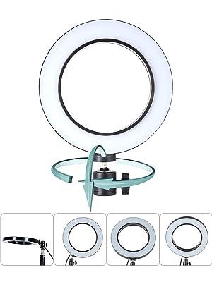 Selfie Light Ring, 8 Led Selfie Ring Light USB Charge YouTube Video/Photography Live Stream Makeup [3-Light Mode] [9-Level Brightness]