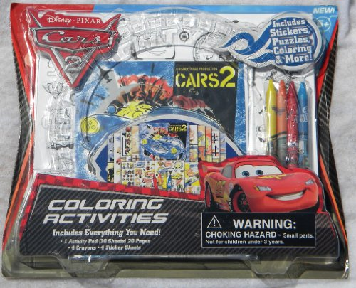 Cars 2 Coloring Activities