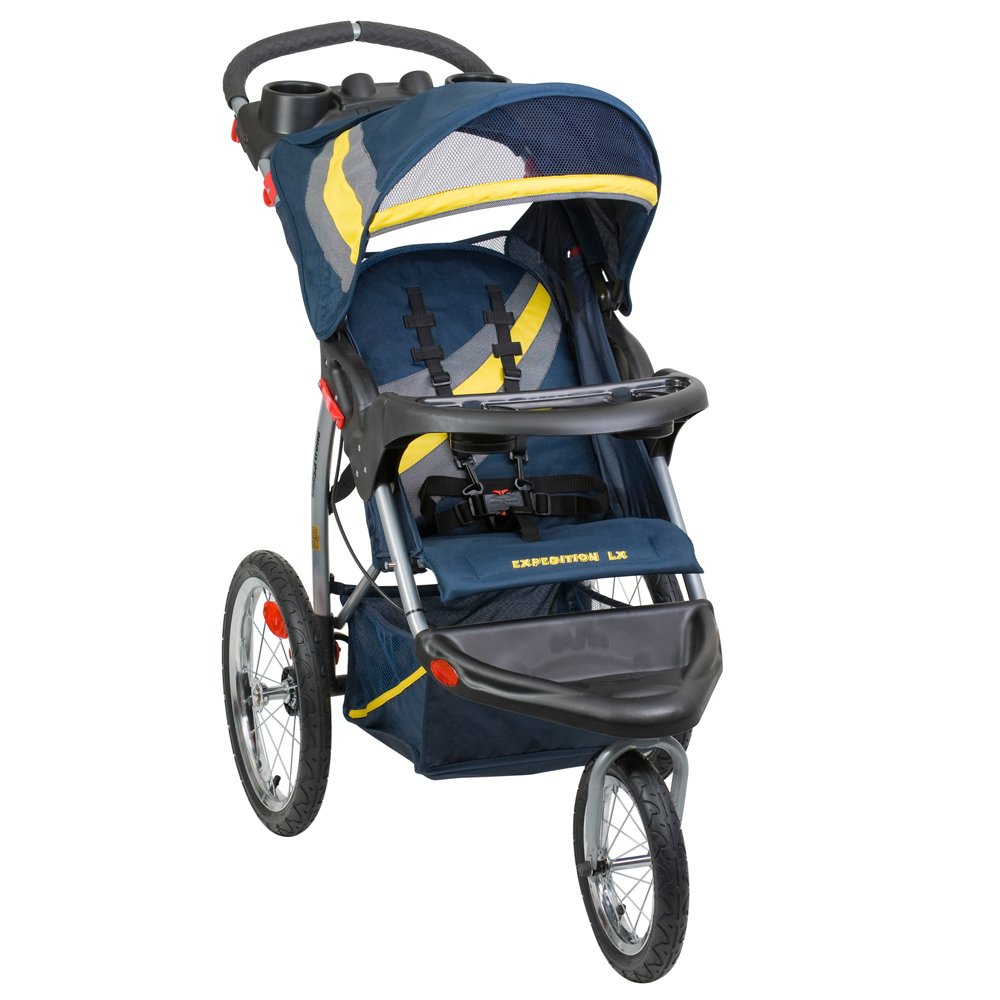 Baby Trend Expedition Lx Jogging Stroller, Riviera yellow blue at Sears.com