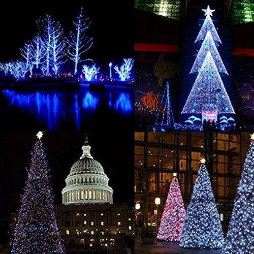 Fuloon 10m x 320 led cortina tira luz exterior - Tiras led navidad ...
