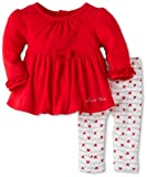 Calvin Klein Baby-girls Newborn Tunic with Leggings