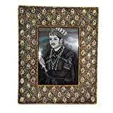Decorative Picture Frame Indian Handmade Lac Beaded Material Vintage Style Antique Photo Frame Home Decor Table...