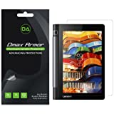 Dmax Armor [3-Pack] for Lenovo Yoga Tab 3 8 inch Screen Protector, Anti-Bubble High Definition Clear Shield- Lifetime Replacements Warranty- Retail Packaging (Color: Clear)
