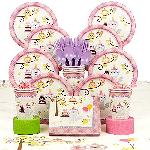 Happy Woodland Girl Deluxe Kit (Serves 8)