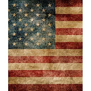 Printed Photography Background Patriotic pattern Titanium Cloth TC931 Flag Backdrop 5'x6' Ft (60