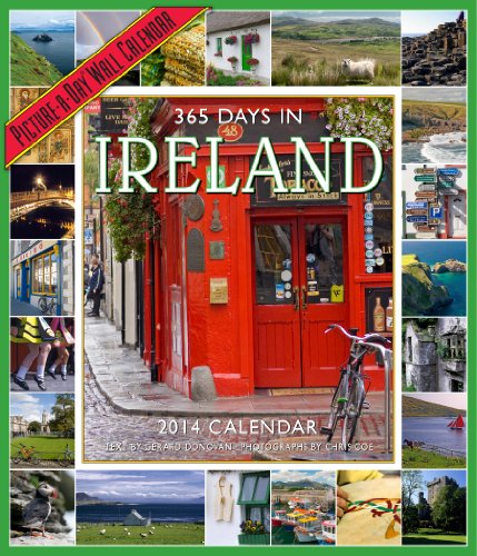 365 Days in Ireland 2014 Wall Calendar