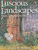img - for Luscious Landscapes: Simple Techniques for Dynamic Quilts book / textbook / text book