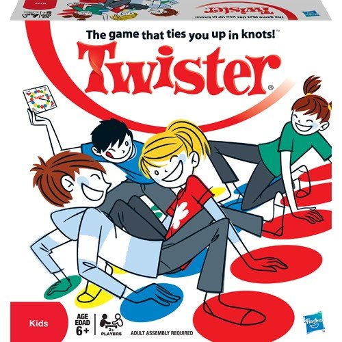 Classic Twister by Hasbro, New or Vintage