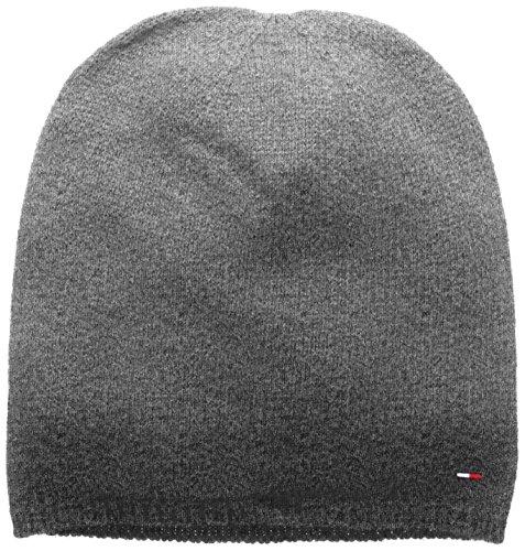 Hilfiger Denim Thdm Sweaterknit Hat 19, Berretto a Maglia Uomo, Grau (Mid Grey Htr Sweater 085), Taglia Unica