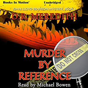 Murder By Reference Audiobook