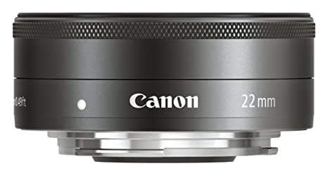 Canon 5985B005 Objectif EF-M 22mm f/2 STM