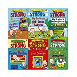 Jeremy Strong Jeremy Strong My Brother's Famous Bottom Collection 6 Books Set, (Christmas bottom-Unwrapped, Famous Bottom Gets Pinched, Famous Bottom Goes Camping, Hot Cross Bottom, Famous Bottom and Gets Crowned!)