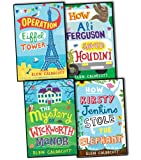 Elen Caldecott Elen Caldecott 4 Books Collection Set RRP 23.96 (How Ali Ferguson Saved Houdini, Operation Eiffel Tower, HOW KIRSTY JENKINS STOLE THE ELEPHANT, The Mystery of Wickworth Manor)