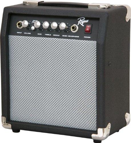 Rogue 10W 1x6.5 Guitar Combo Amp, Black