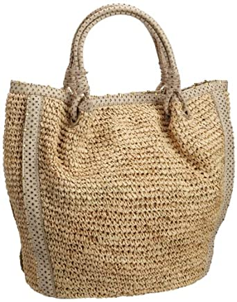Flora Bella Women's Villano Handbag, Natural/Ivory, One Size