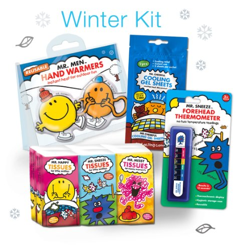 Mr Men Winter Kit