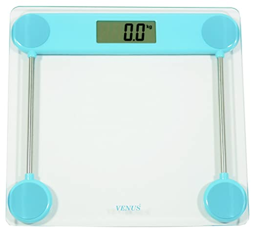 Venus Blue Personal Electronic Digital LCD Weight Machine Body Fitness Weighing Bathroom Scale Weight Machine available at Amazon for Rs.799