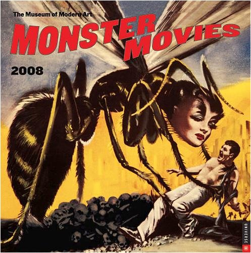 Monster Movies Wall - 2008 Calendar - Buy Monster Movies Wall - 2008 Calendar - Purchase Monster Movies Wall - 2008 Calendar (Calendars, Office Products, Categories, Office & School Supplies, Calendars Planners & Personal Organizers, Wall Calendars)