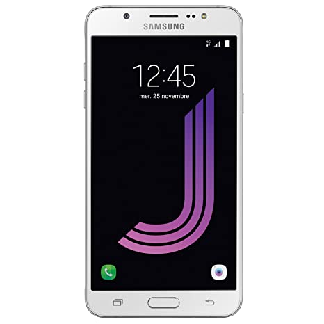 Samsung Galaxy J7 SM J710F Smart Phone, White available at Amazon for Rs.15300