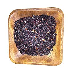 Giskaa Polished Aromatic Black Rice from Manipur Rice 500 gm