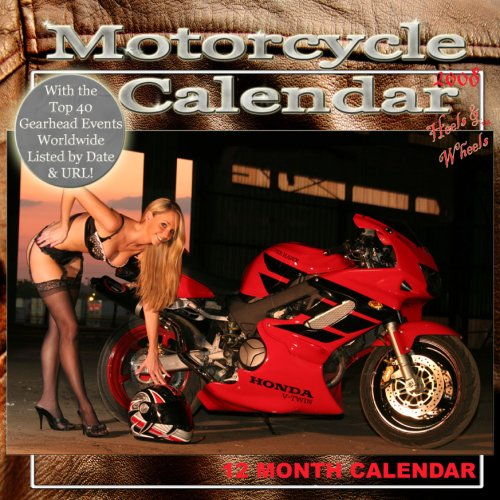 Heels+%26+Wheels+Model+%26+Motorcycle+Calendar+2008