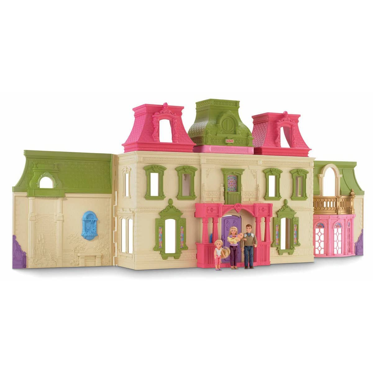 Fisher- Price Loving Family Dream Dollhouse with Caucasian Family Reviews