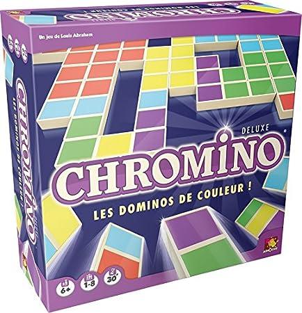 Asmodée - Chro05 - Jeu De Réflexion - Chromino Deluxe