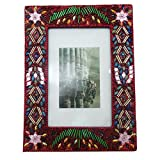 Handmade Picture Frame Indian Home Decor Vintage Style Antique Photo Frame Table Top Decortative Picture Frame...
