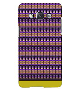 PrintDhaba Bottle Pattern D-1943 Back Case Cover for SAMSUNG GALAXY E5 (Multi-Coloured)