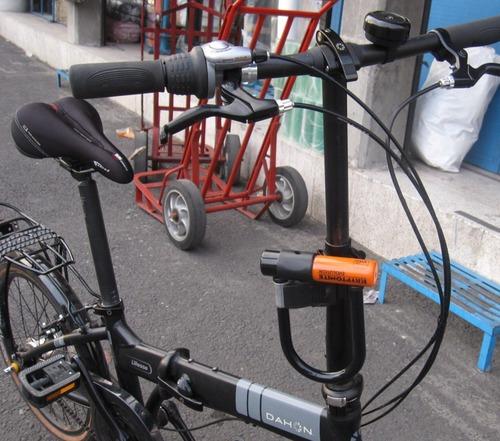 kryptonite evolution mini bike u lock sports outdoors. Black Bedroom Furniture Sets. Home Design Ideas