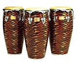 Tycoon Percussion 12 1/2 Inch Master Fantasy Tiger Series Tumba With Single Stand