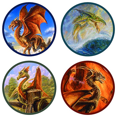 Bob Eggleton Dragons Coaster Set - 1