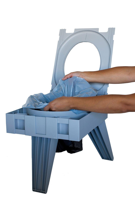 New Portable Toilet Folding Seat Fold 3 Leg Chair Travel
