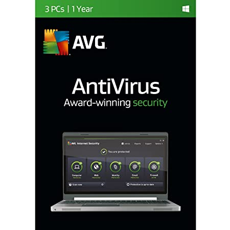 AVG AntiVirus, 3 User 1 Year [Download]
