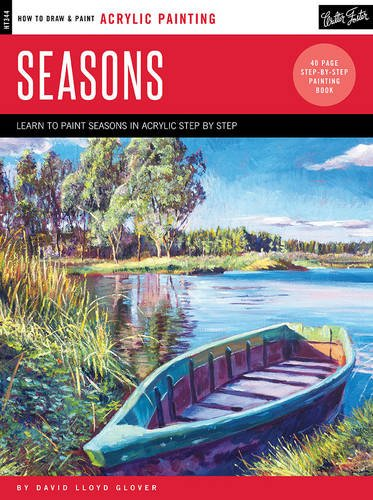 Acrylic: Seasons: Learn to paint the colors of the seasons step by step (How to Draw & Paint) (How To Draw The Garden compare prices)