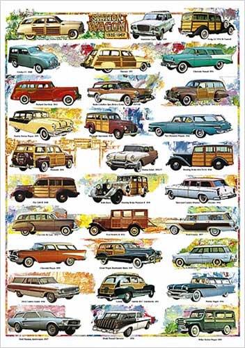 Station Wagon 1932-1967 Poster Print, 26.75X38.5
