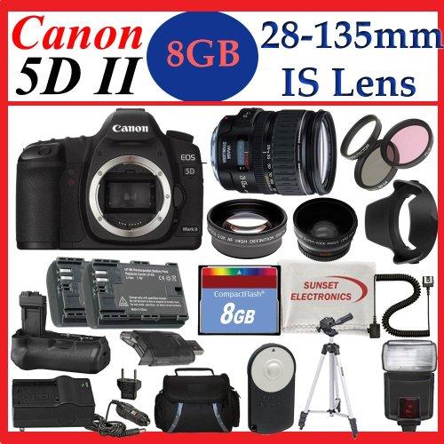Black friday low price canon eos 5d mark ii with canon 28 for Canon 5d mark ii price