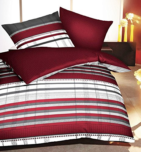 bettw sche biber 200x200 rot. Black Bedroom Furniture Sets. Home Design Ideas