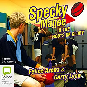 Specky Magee and the Boots of Glory Audiobook