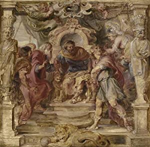 Classic Art Poster - The Wrath of Achilles by Peter Paul Rubens 24 X 23.5