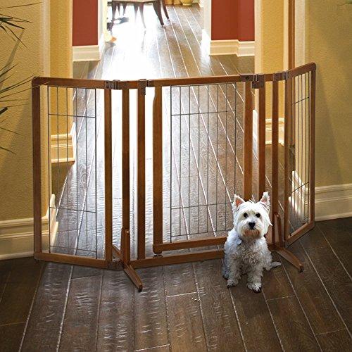 Richell Premium Plus Freestanding Gate Pets Bond