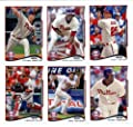2011, 2012,2013 & 2014 Topps Philadelphia Phillies Baseball Card Team Sets (Complete Series 1 & 2 From All Four Years )