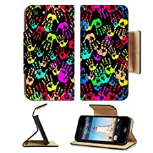 buy Apple Iphone 5 Iphone 5S Flip Case Handprint Idea Image 19154379 By Msd Customized Premium Deluxe Pu Leather Generation Accessories Hd Wifi Luxury Protector