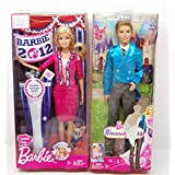 Mattel Barbie The Princess And The Popstar Liam Doll & Barbie I Can Be U.S.A. President Barbie Doll