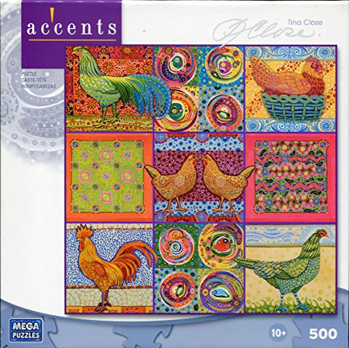 Accents Tina Close 500 Piece Jigsaw Puzzle: Something to Crow About - 1